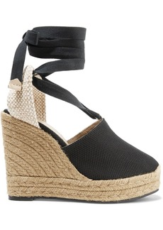 Castañer Nerea canvas wedge espadrilles