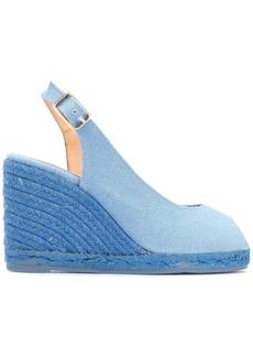Castañer peep toe slingback sandals