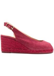 Castañer slingback peep toe sandals