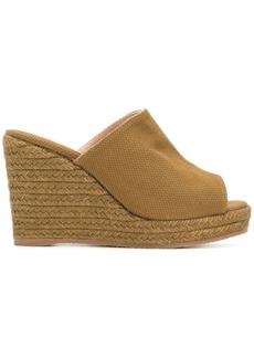 Castañer woven platform wedge sandals