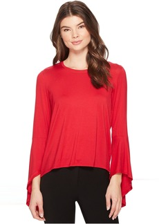 Bell Sleeve High-Low Top