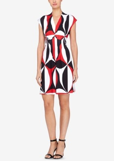 Catherine Catherine Maladrino Tinka Printed Sheath Dress