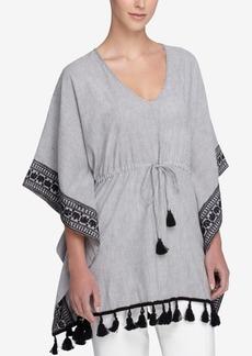 Catherine Catherine Malandrino Alara Tassel-Trim Kimono Top