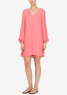 Catherine Catherine Malandrino Bell-Sleeve Shift Dress