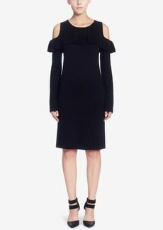 Catherine Catherine Malandrino Brigid Cold-Shoulder Sweater Dress