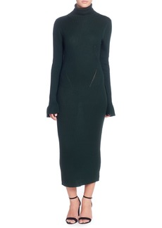 Catherine Catherine Malandrino Camron Turtleneck Midi Dress