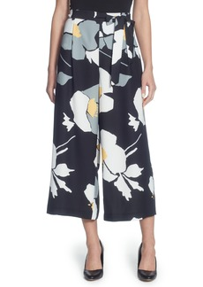 Catherine Catherine Malandrino Carver Floral Crop Pants