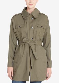 Catherine Catherine Malandrino Clarke Cotton Utility Jacket