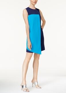 Catherine Catherine Malandrino Colorblocked Shift Dress
