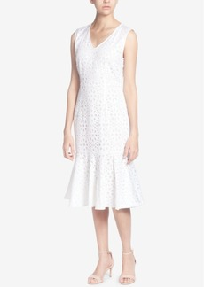 Catherine Catherine Malandrino Cotton Eyelet Dress
