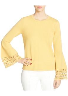 CATHERINE Catherine Malandrino Deco Bell-Sleeve Sweater