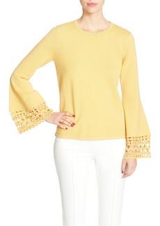 Catherine Catherine Malandrino Deco Bell Sleeve Sweater