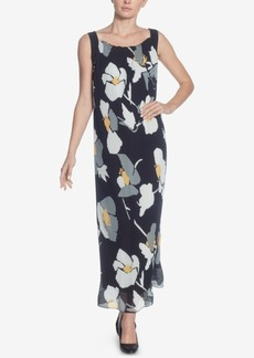 Catherine Catherine Malandrino Delphine Printed Pleated Maxi Dress