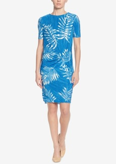 Catherine Catherine Malandrino Dina Printed Sheath Dress