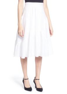 Catherine Catherine Malandrino Dom Cotton Ruffle Skirt