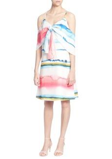 Catherine Catherine Malandrino Eden Cold-Shoulder Dress