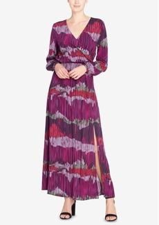 Catherine Catherine Malandrino Faux-Wrap Maxi Dress