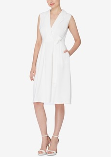 Catherine Catherine Malandrino Faux-Wrap Shirtdress