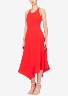 Catherine Catherine Malandrino Handkerchief-Hem Fit & Flare Dress