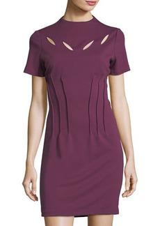Catherine Catherine Malandrino High-Neck Cutout Dress