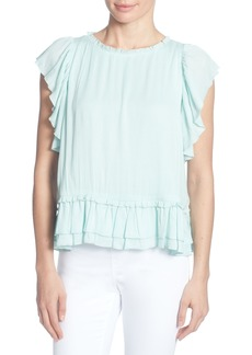 Catherine Catherine Malandrino Hollis Ruffled Top