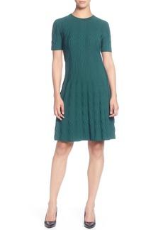 Catherine Catherine Malandrino Jacquard Sweater Dress