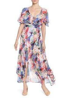 CATHERINE Catherine Malandrino Jos Floral Print Maxi Dress