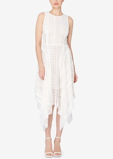 Catherine Catherine Malandrino Lace Fit & Flare Dress