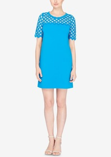 Catherine Catherine Malandrino Lattice-Trim T-Shirt Dress