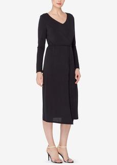 Catherine Catherine Malandrino Layered Faux-Wrap Dress