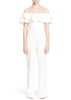 Catherine Catherine Malandrino Lelio Off the Shoulder Jumpsuit