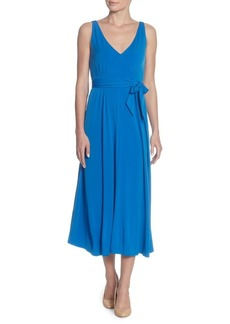 Catherine Catherine Malandrino Lindy Pleated Midi Dress