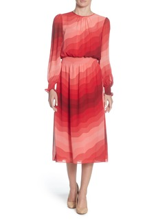 Catherine Catherine Malandrino Marlieke Chiffon Midi Dress