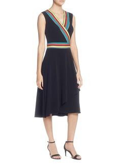 CATHERINE Catherine Malandrino Marzi Stripe-Trim Dress