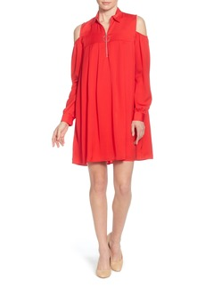 Catherine Catherine Malandrino Massima Cold Shoulder Dress