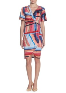 Catherine Catherine Malandrino Nyla Short-Sleeve Sheath Dress