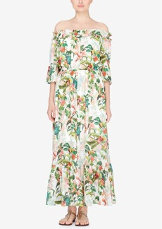 Catherine Catherine Malandrino Off-The-Shoulder Maxi Dress