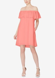 Catherine Catherine Malandrino Off-The-Shoulder Shift Dress