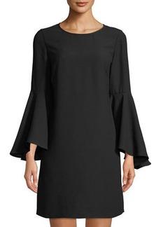 Catherine Catherine Malandrino Oversized Bell-Sleeve Shift Dress