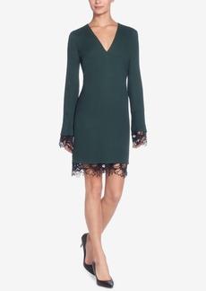 Catherine Catherine Malandrino Pernilla Lace-Trim Sheath Dress