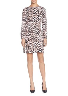 CATHERINE Catherine Malandrino Petra Leopard-Print Dress