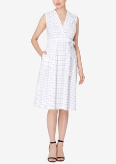 Catherine Catherine Malandrino Printed Shirtdress