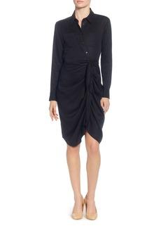 CATHERINE Catherine Malandrino Sloan Tie Waist Shirt Dress
