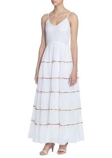 Catherine Catherine Malandrino Soumaya Cotton Maxi Dress
