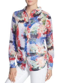 CATHERINE Catherine Malandrino Spencer Floral Print Blouse