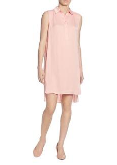 CATHERINE Catherine Malandrino Stella Sleeveless High/Low Shirt Dress