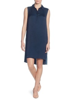 Catherine Catherine Malandrino Stella Sleeveless Shirt Dress