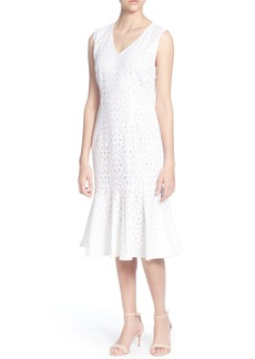 Catherine Catherine Malandrino Suz Lace Sleeveless Dress
