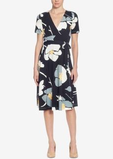 Catherine Catherine Malandrino Taral Floral-Print Wrap Dress