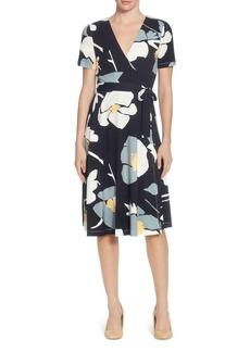 CATHERINE Catherine Malandrino Taral Floral Wrap Dress